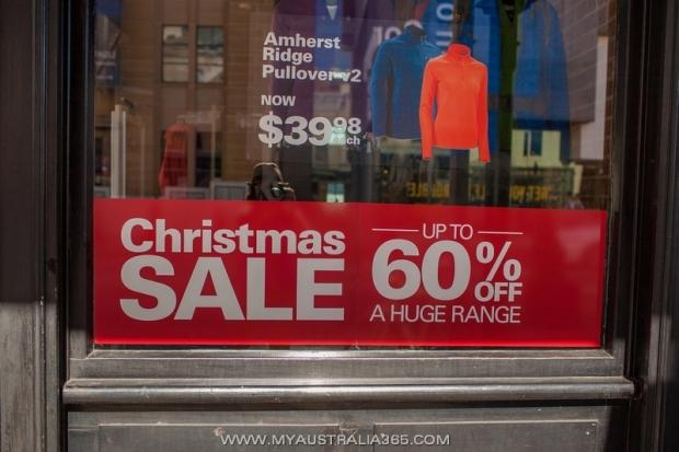 Рождественские распродажи в Сиднее