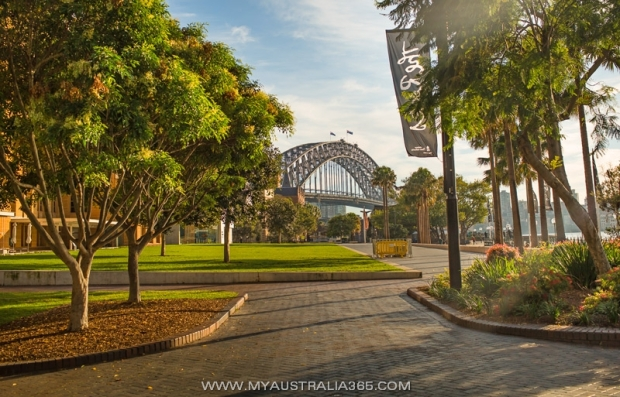 Австралийский мост Харбор Бридж