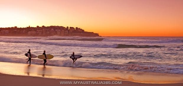 пляж Бондай Бич в Сиднее