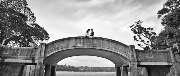 Свадебная фотосессия в Мосмане на Балморал Бич
