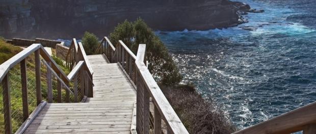 Пеший маршрут вдоль океана в Сиднее