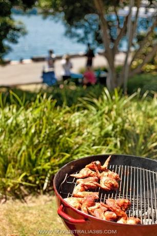 австралийское барбекю на День Австралии в Сиднее