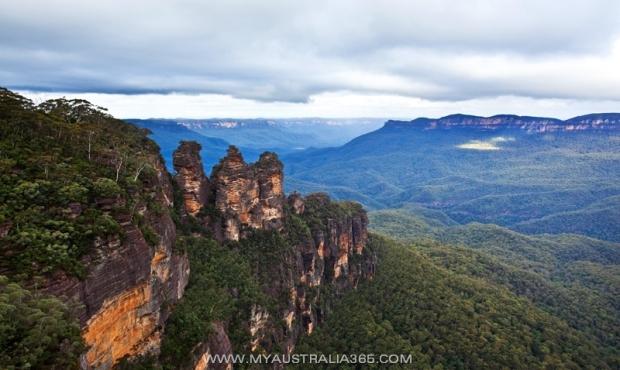 Голубые горы Три сестры в Сиднее