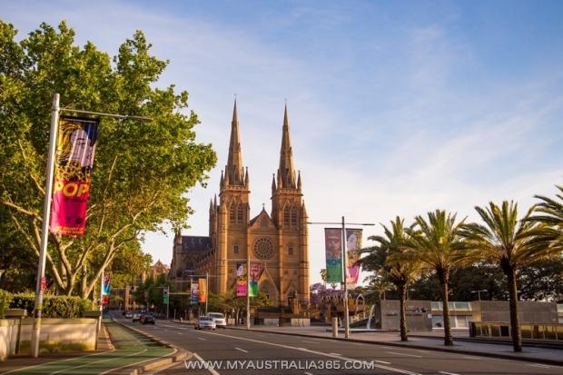 Кафедральный Собор Святой Девы Марии в Сиднее