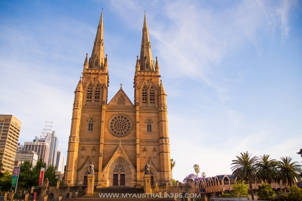 Собор Святой Марии в Сиднее