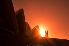 свадебная фотосъемка у Оперы Хаус в Сиднее