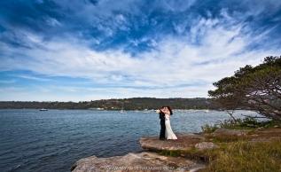 Свадебная фотосъемка на берегу океана в Сиднее