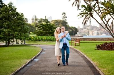 Фотосессия в Королевском Ботаническом саду в Сиднее