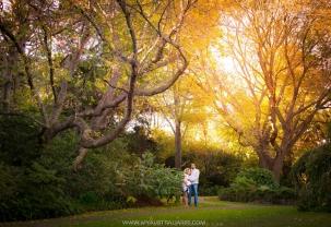 Фотосъемка влюбленных в осеннем Сиднее