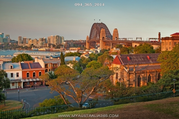 Район Зе Рокс в Сиднее