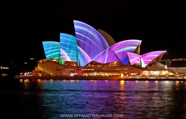 Фестиваль Света, Музыки и Арта Vivid Sydney в Сиднее
