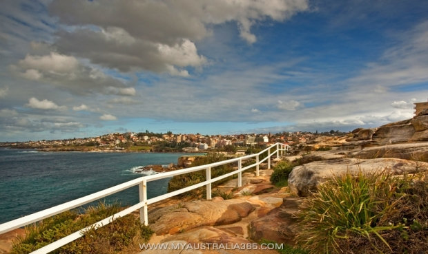 Пеший маршрут вдоль океана в Сиднее The Bondi to Maroubra coastal walk