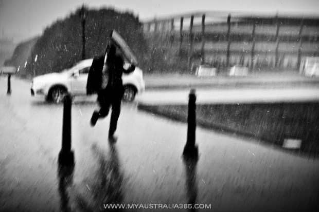Дождь в Сиднее