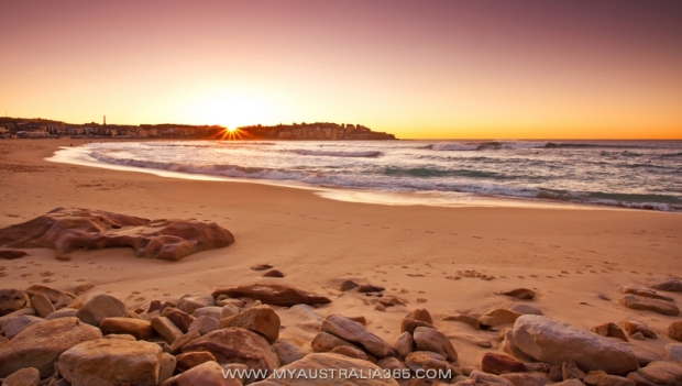 Утро на Бондай Бич Bondi Beach