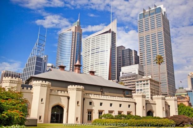 Здание музыкальной Консерватории The Sydney Conservatorium of Music