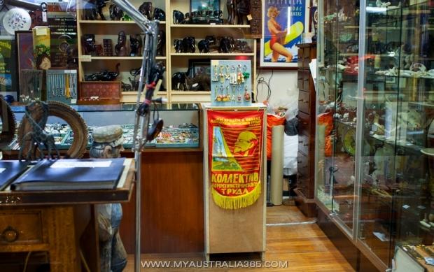 Советские сувениры в Австралии