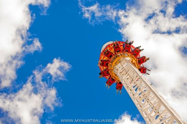 Лунапарк Sydney Luna Park в Сиднее