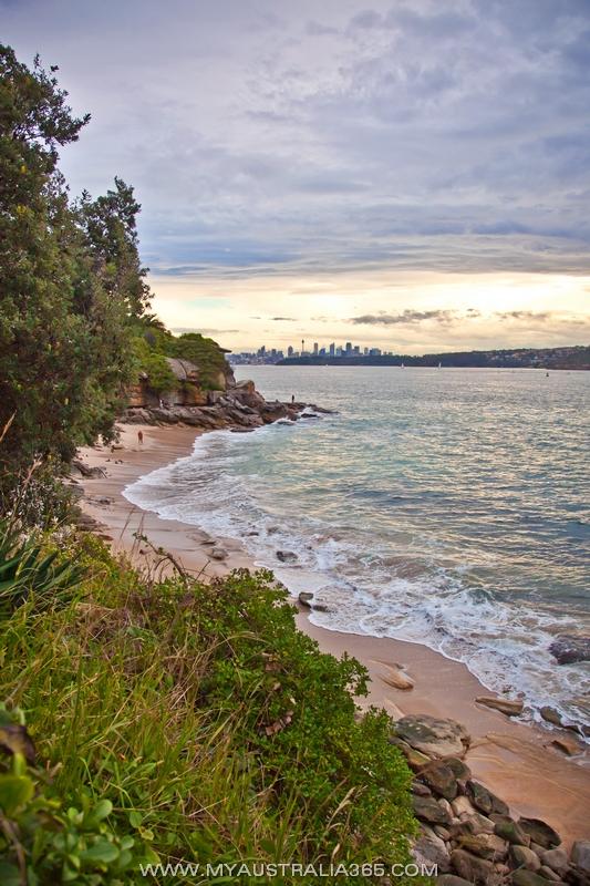 Нудисткий пляж Lady Bay Beach в черте города в Сиднее