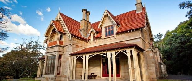 Усадьба Greycliffe House в парка Nielsen Park