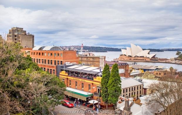 Популярный паб в Сиднее, где можно встретить Новый год  The Glenmore at the Rocks