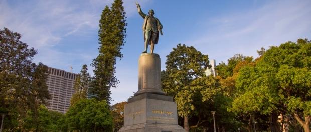 Памятник Джеймсу Куку James Cook в Гайд парке Hyde Park