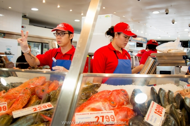 Рыбный рынок Fish Market в Сиднее