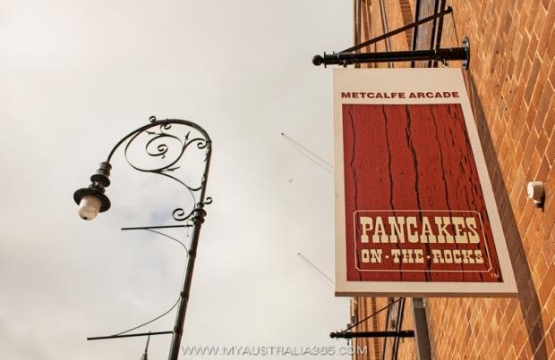 Популярный ресторан в Зе Рокс  Pancakes on the Rocks