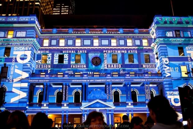 Фестиваль света Vivid Sydney в Австралии