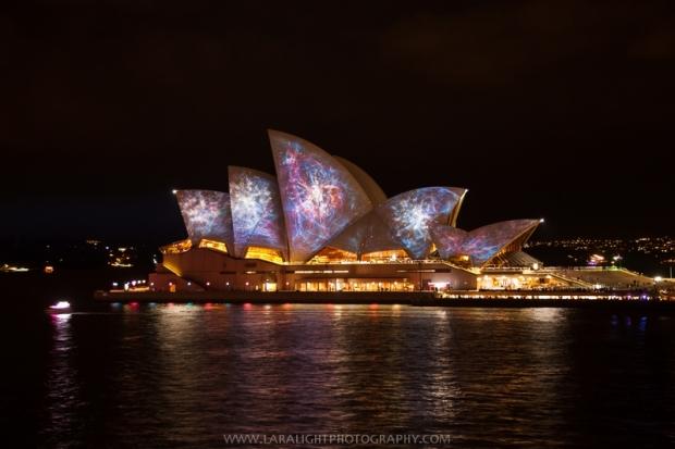 фестиваль света в Сиднее vivid Sydney