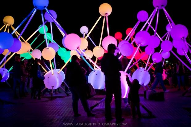фестиваль света в Австралии Vivid Sydney